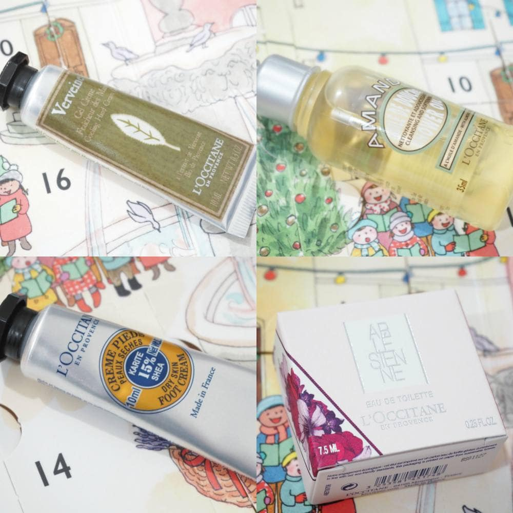 L'Occitane Classic Beauty Advent Calendar with SPOILERS