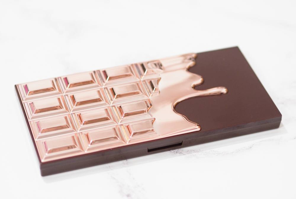 Makeup Revolution I Heart Makeup Chocolate Rose Gold Eyeshadow Palette