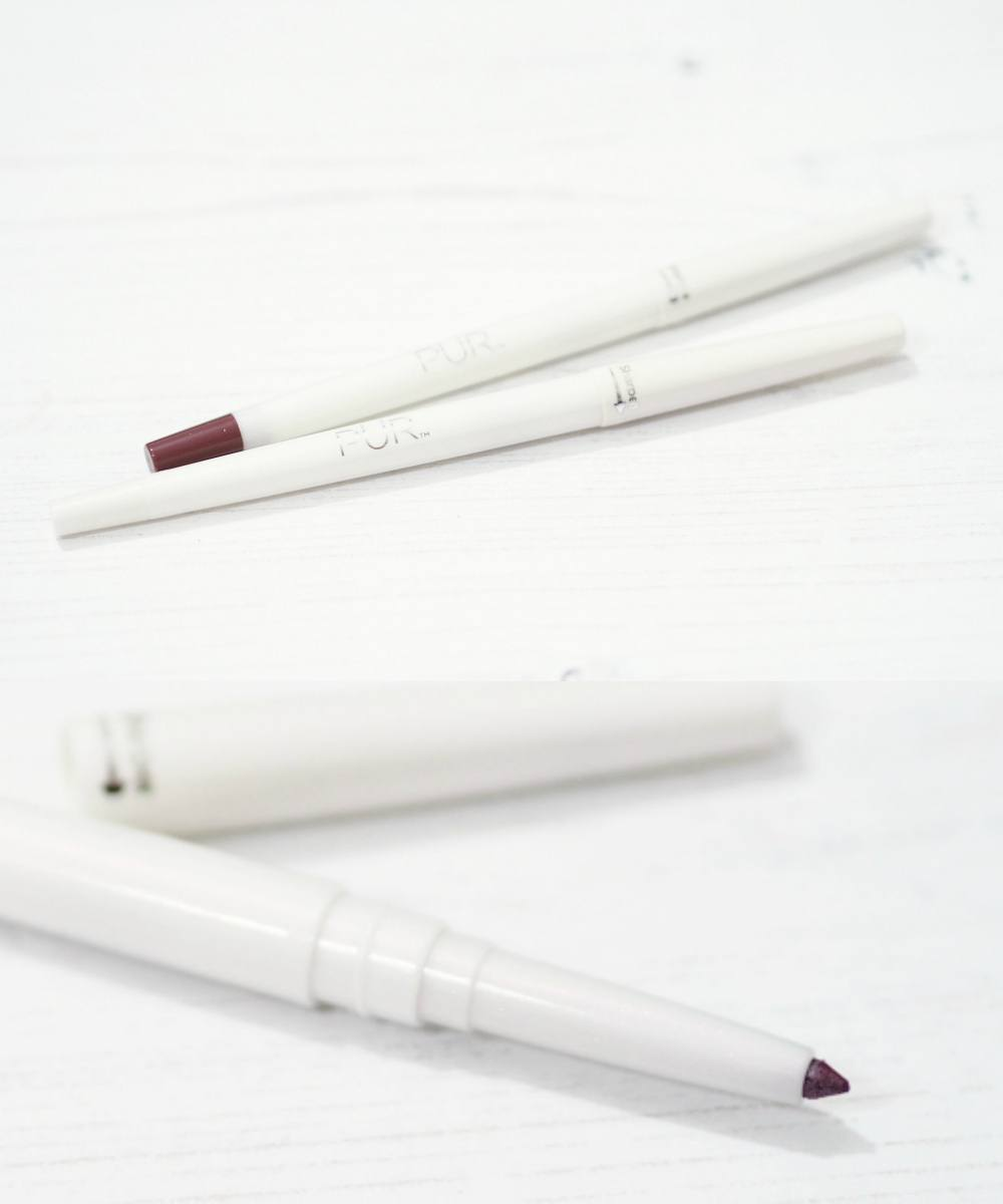 PUR Cosmetics On Point Eyeliner and Lipliner Pencils