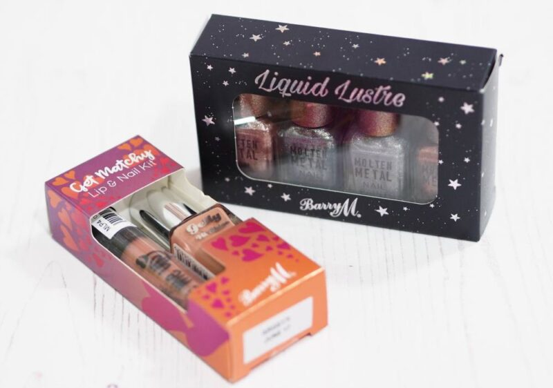 Barry M Christmas Gift Sets
