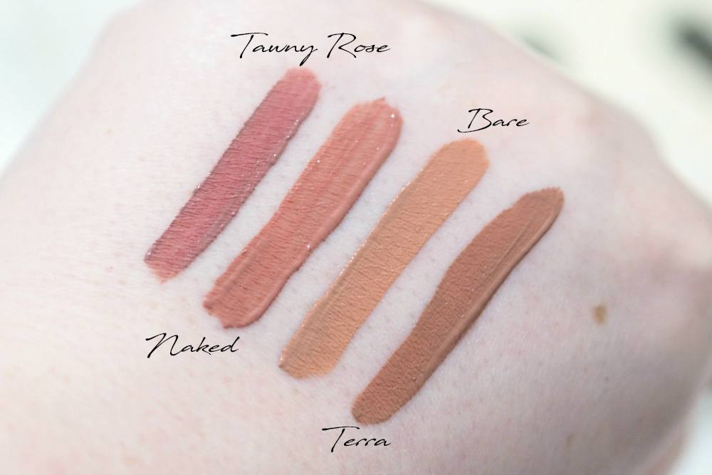 Jouer Best of Nudes Lip Creme Collection Review and Swatches