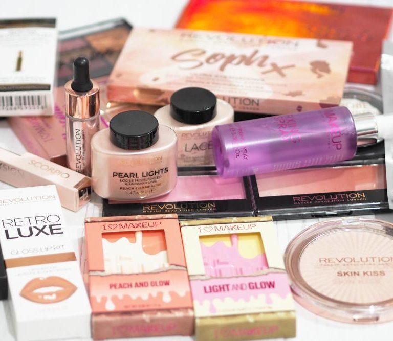 Makeup Revolution Haul December 2017