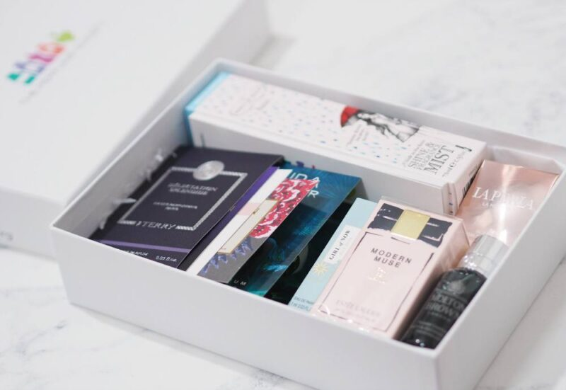 The Perfume Society Fashion, Fabric and Fragrance Box
