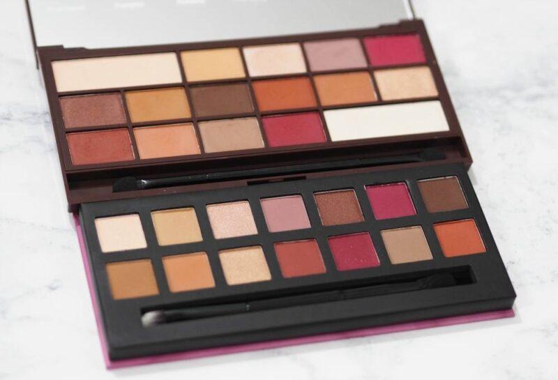 Makeup Revolution Chocolate Elixir Palette Vs. W7 Delicious Palette – DUPE WARS!
