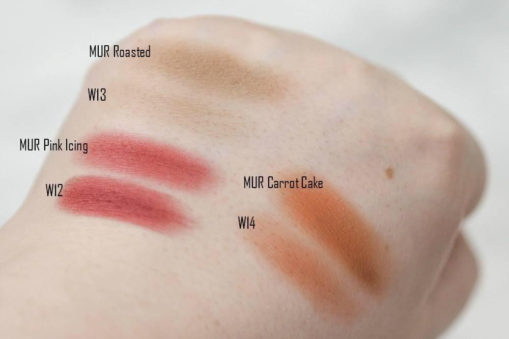 Makeup Revolution Chocolate Elixir Palette Vs. W7 Delicious Palette - DUPE WARS! Review and Comparison Swatches