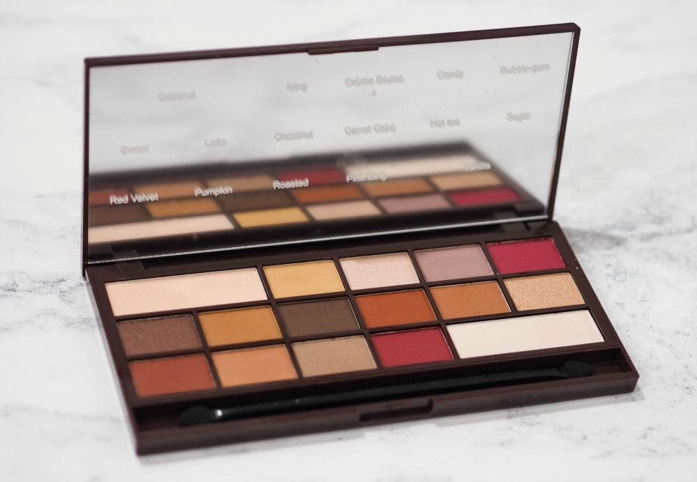 Makeup Revolution I Heart Makeup Chocolate Elixir Eyeshadow Palette