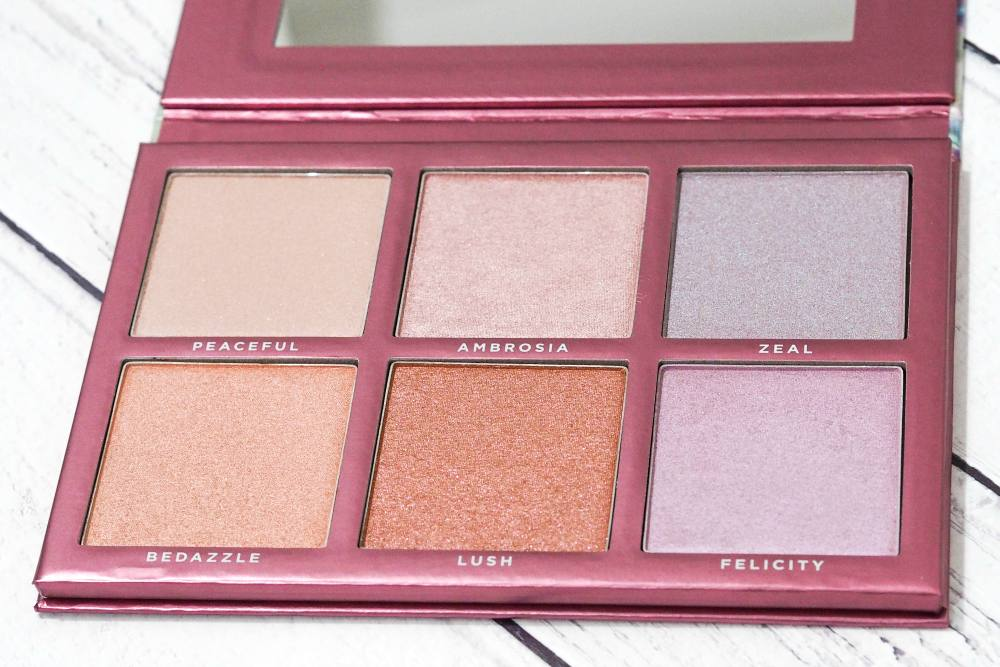 Sigma Chroma Glow Shimmer and Highlight Palette
