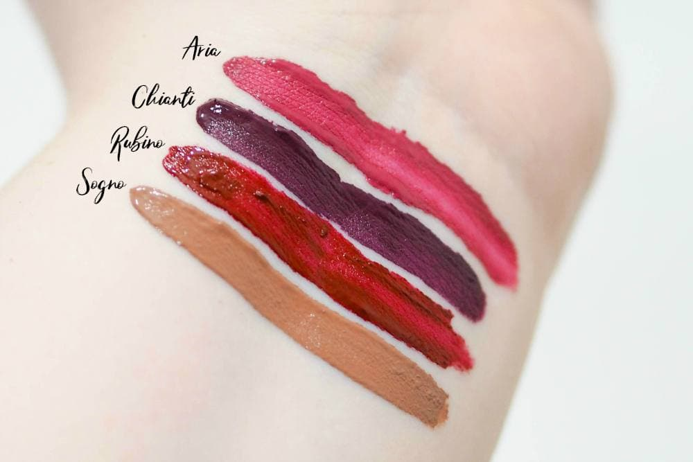 Stila Star Studded Eight Stay All Day Liquid Lipstick Set Review and Swatches