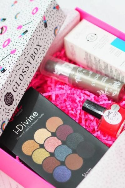 Glossybox February 2018 Unboxing and First Impressions featuring Sleek, Ciate, Studio 10, Skin Chemists and Steve Laurent