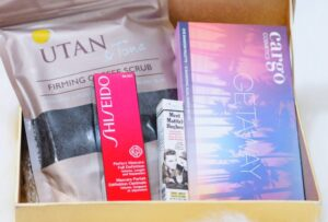 Look Incredible Deluxe February Box 2018 Unboxing and First Impressions featuring UTAN, Shiseido, theBalm and Cargo Cosmetics