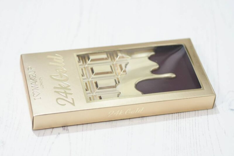 Makeup Revolution 24K Gold Eyeshadow Palette | #MakeupRevolutionWeek