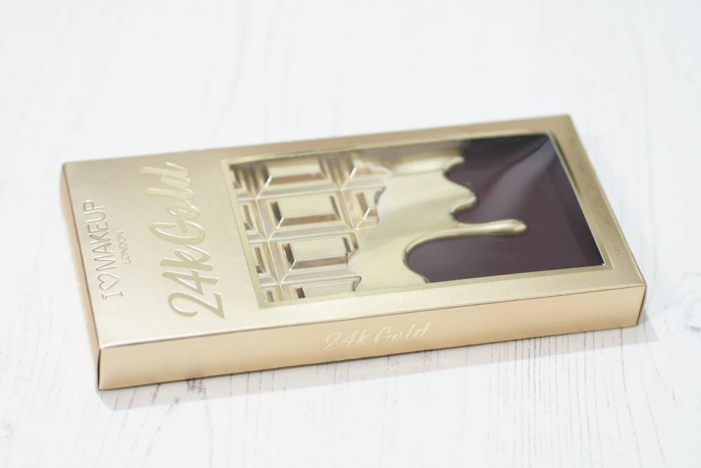 Makeup Revolution 24K Gold Eyeshadow Palette Review and Swatches