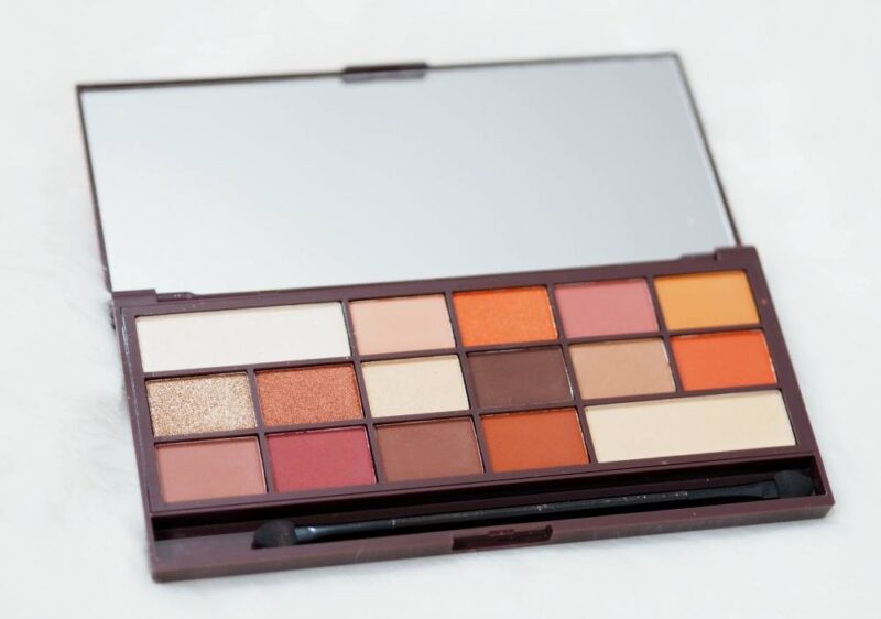 Makeup Revolution Chocolate Orange Eyeshadow Palette | #MakeupRevolutionWeek
