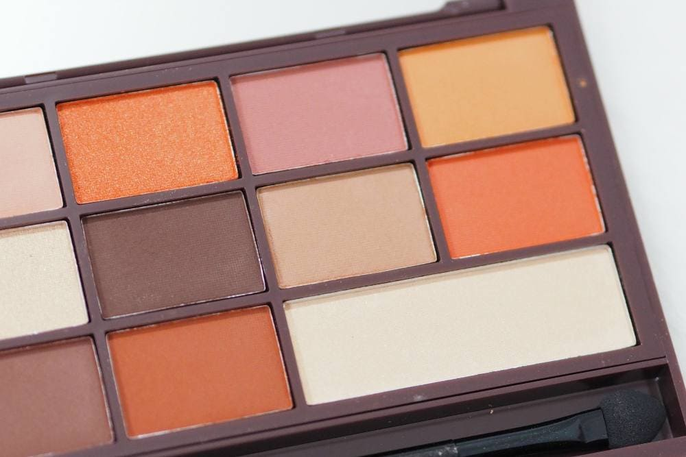 Makeup Revolution Chocolate Orange Eyeshadow Palette | #MakeupRevolutionWeek | Gemma Etc.
