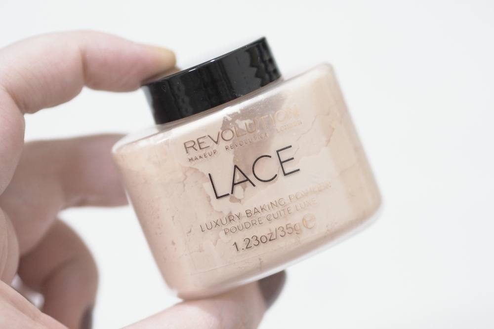 Makeup Revolution Lace Luxury Baking Powder Review and Swatches