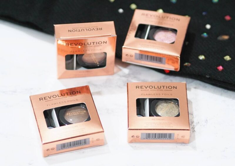 Makeup Revolution Flawless Foils Eyeshadows