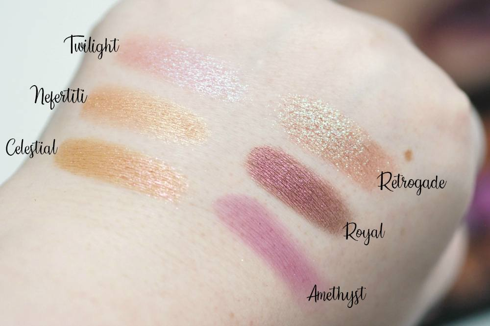 Huda Beauty Desert Dusk Eyeshadow Palette Review and Swatches
