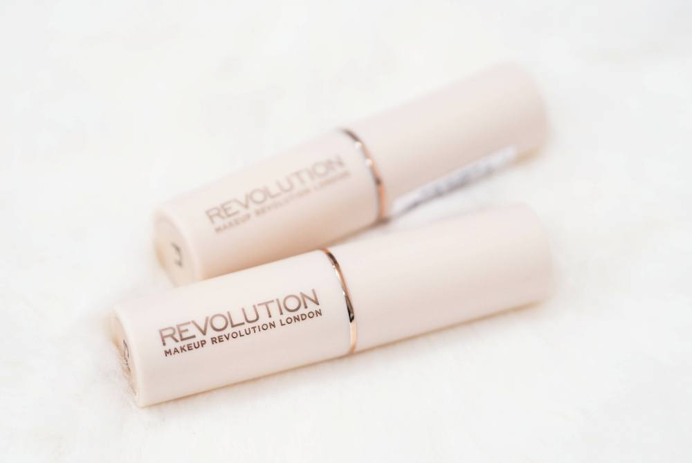 Makeup Revolution Fast Base Foundation Sticks F1 Vs. F3 Review, Swatches and Comparison