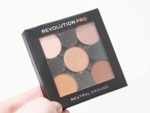 Revolution Pro Neutral Ground Eyeshadow Refill Pack Review and Swatches