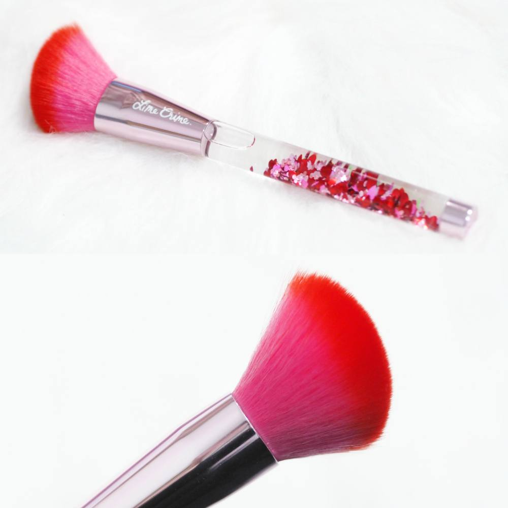 Lime Crime Hot Stuff Brush Set Review and Close-up Photographs