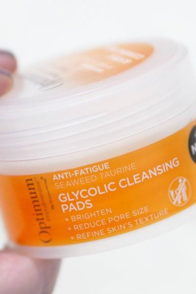 Superdrug Optimum PhytoEnergise Glycolic Cleansing Pads Review