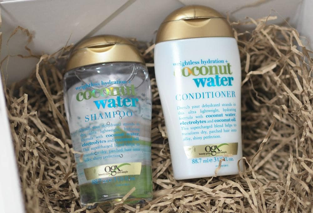 OGX Haircare - Coconut Water, Coconut Milk and Argan Oil Collections