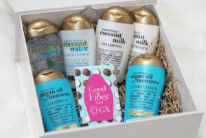 OGX Haircare – Coconut Water, Coconut Milk and Argan Oil Collections