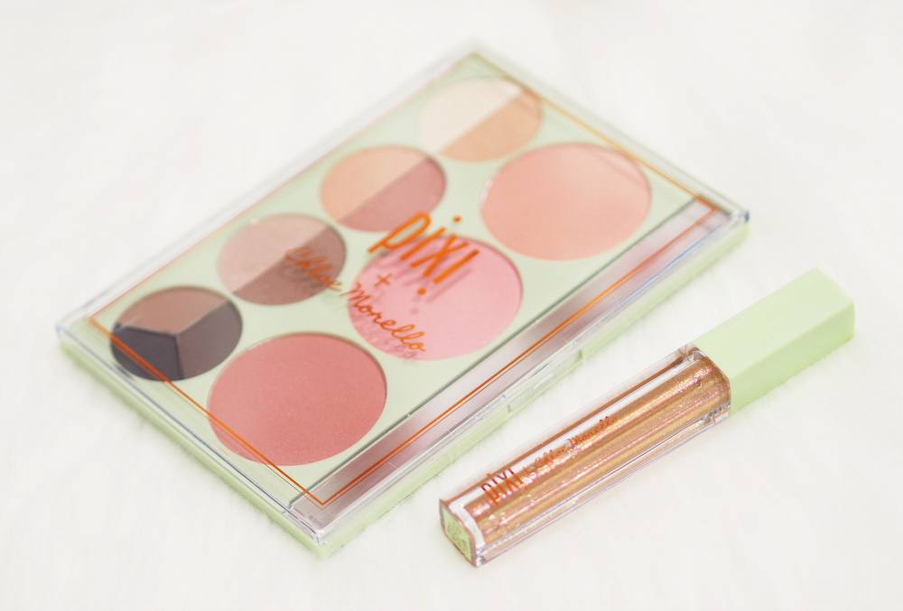 Image showing the Chloe Palette and Chloe Lip Icing in Cake next to eachother