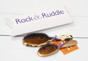Rock and Ruddle Natural Bristle Hairbrushes