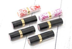 Revlon Super Lustrous Lipsticks
