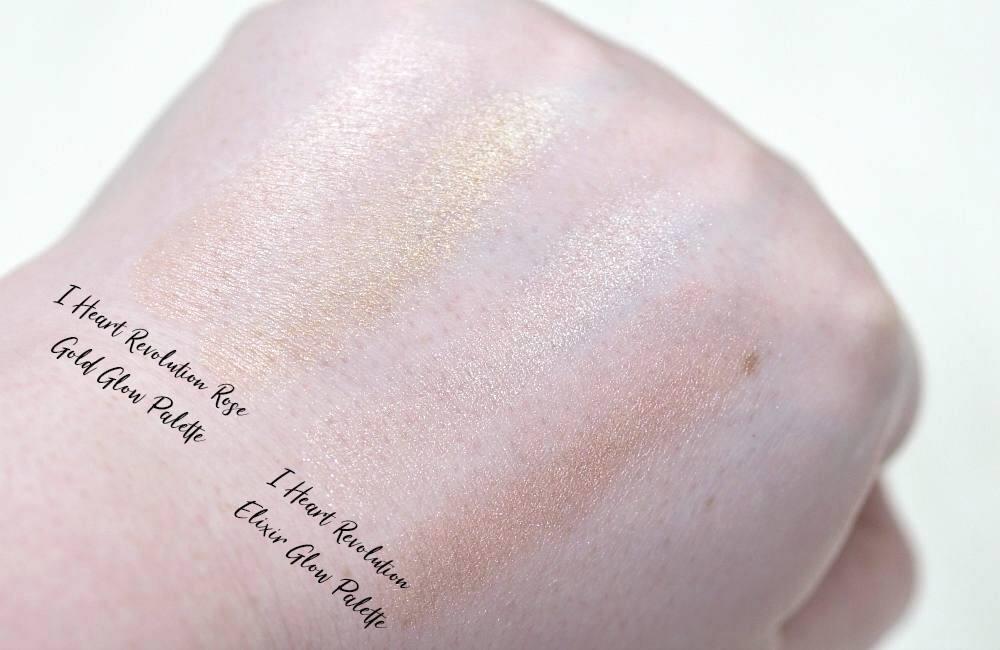 I Heart Revolution Glow Highlighter Palettes