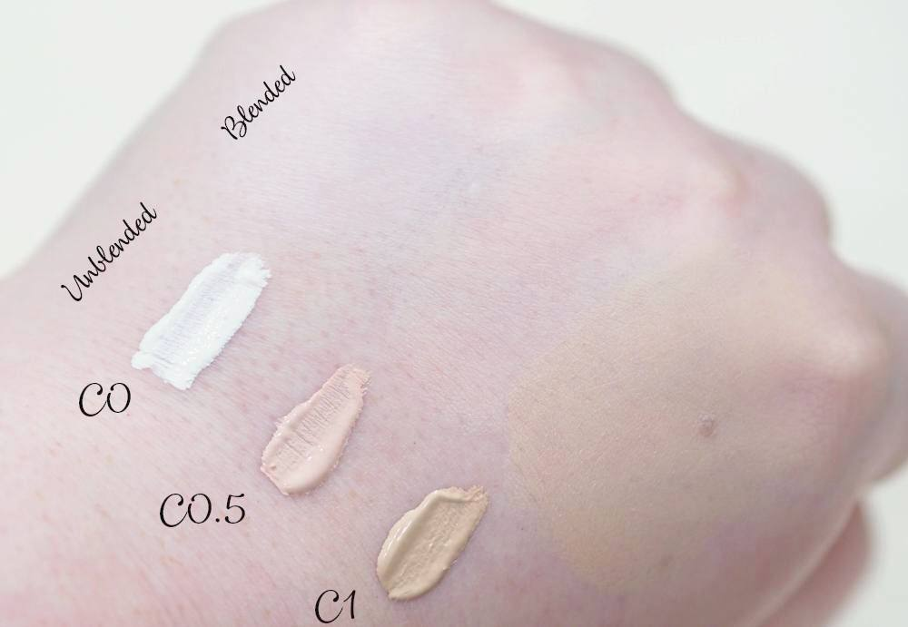 Makeup Revolution Conceal and Define Concealer - NEW Palest Shades C0 and C0.5