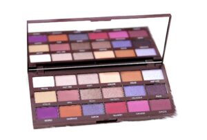 I Heart Revolution Violet Chocolate Eyeshadow Palette Review and Swatches