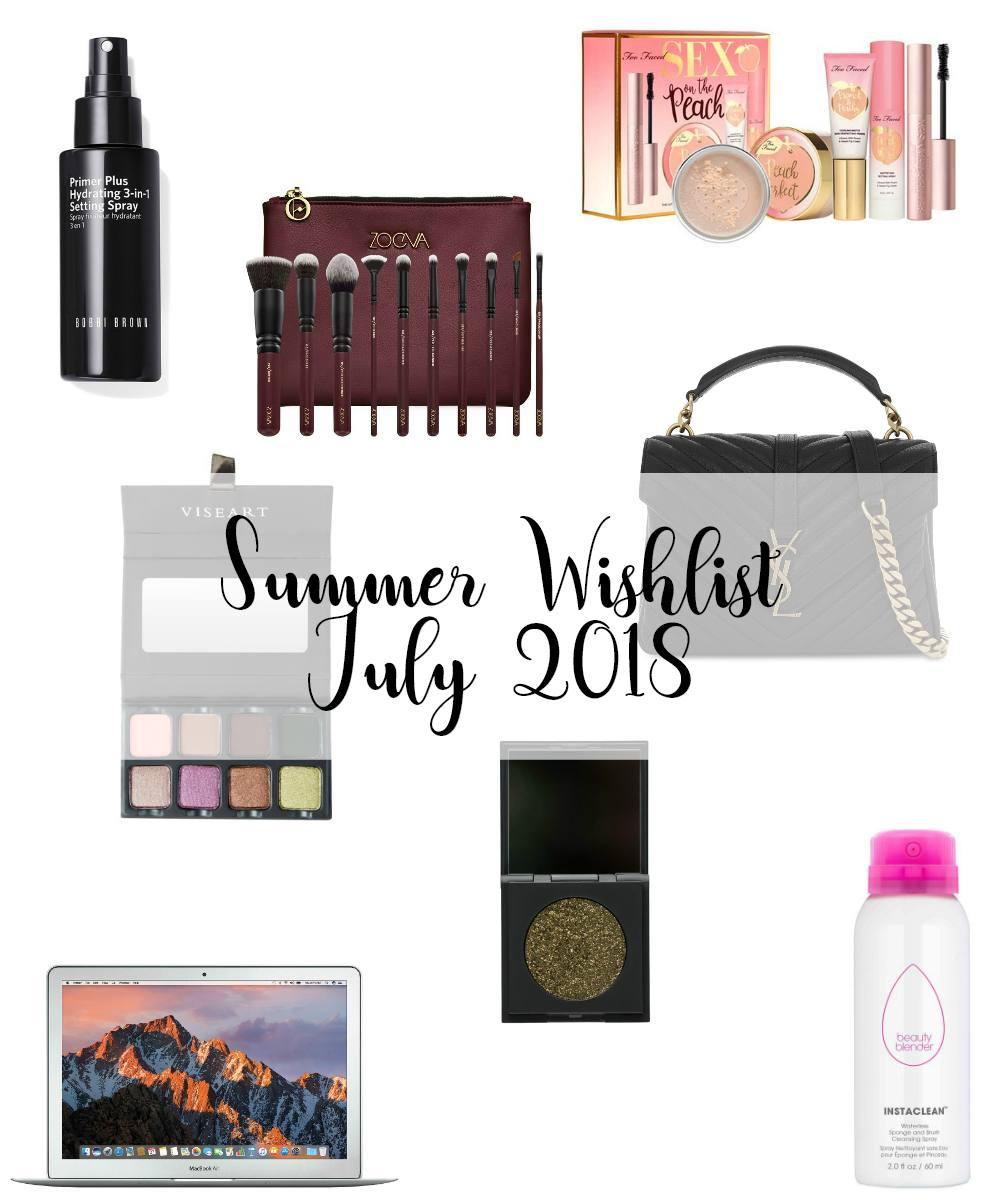 Summer Wishlist July 2018 2