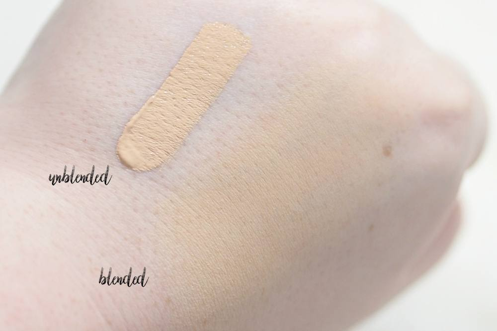 Too Faced Born This Way Multi Use Sculpting Concealer Review and Swatches in the shade Snow