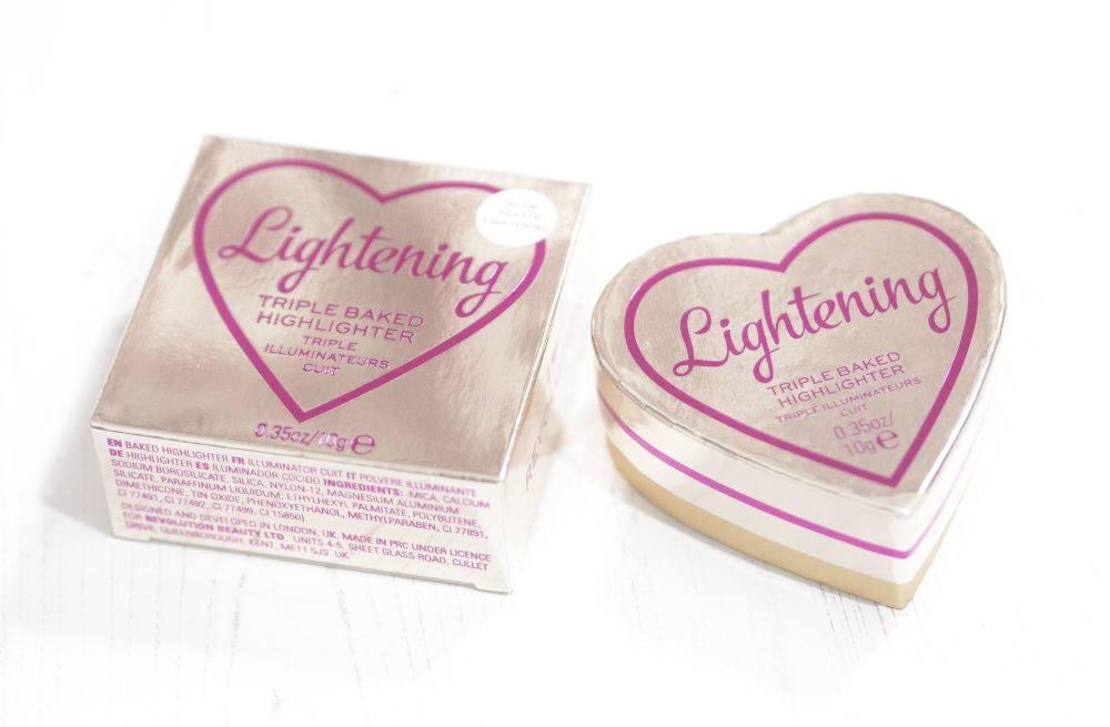 I Heart Revolution Lightening Glow Hearts Highlighter
