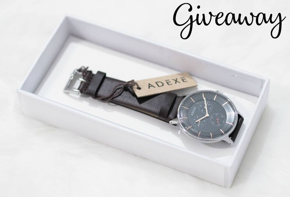 Adexe THEY Grande Dark Chocolate Watch PLUS Giveaway!