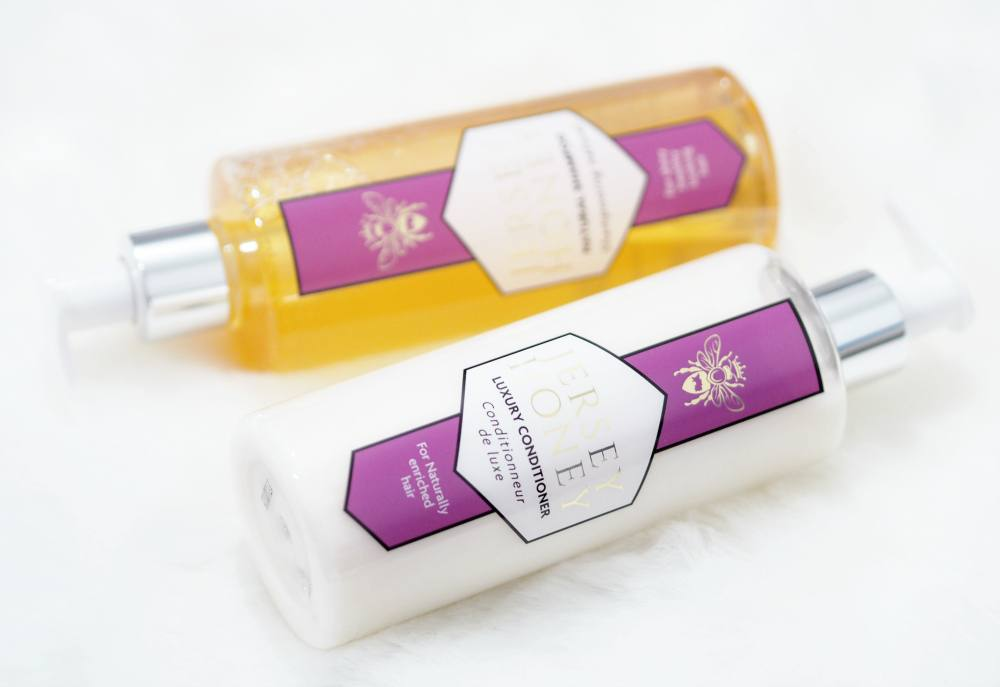 Jersey Honey Naturals Beauty Collection PLUS Giveaway and Review - Shampoo, Luxury Conditioner, Hand and Body Lotion, Luxury Hand Wash and Intensive Hand Cream