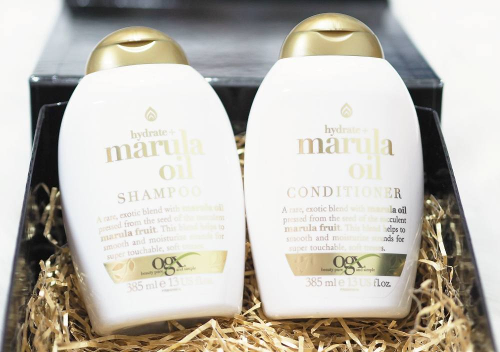 OGX Hydrate and Marula Oil Shampoo and Conditioner