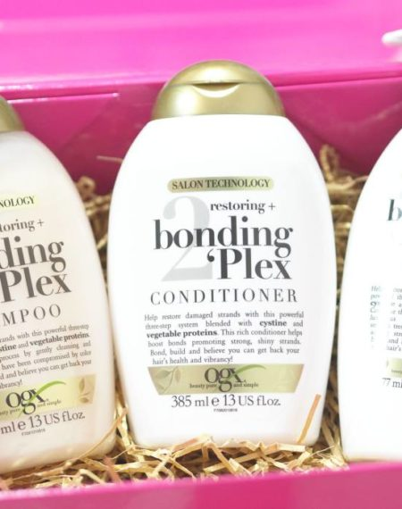 OGX Restoring and Bonding Plex Haircare Collection Review