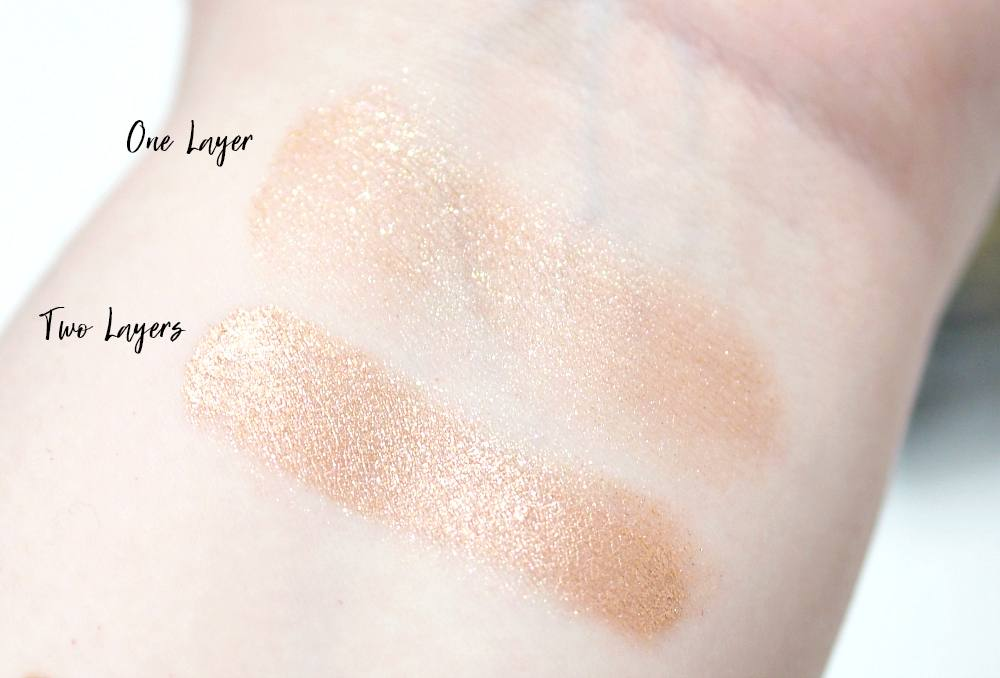 Butter London Glazen Eye Gloss in Frosted Review and Swatches