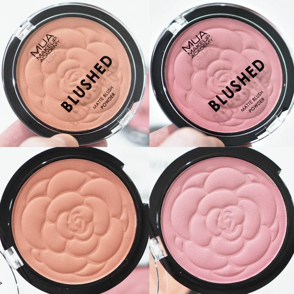 MUA Blushed Matte Blush Powders