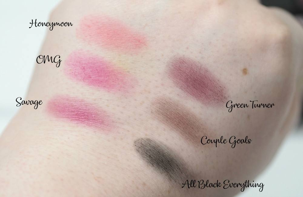Makeup Revolution By Petra Eyeshadow Palette Review and Swatches - a 32 shade eyeshadow palette created by PetraLovelyHair.