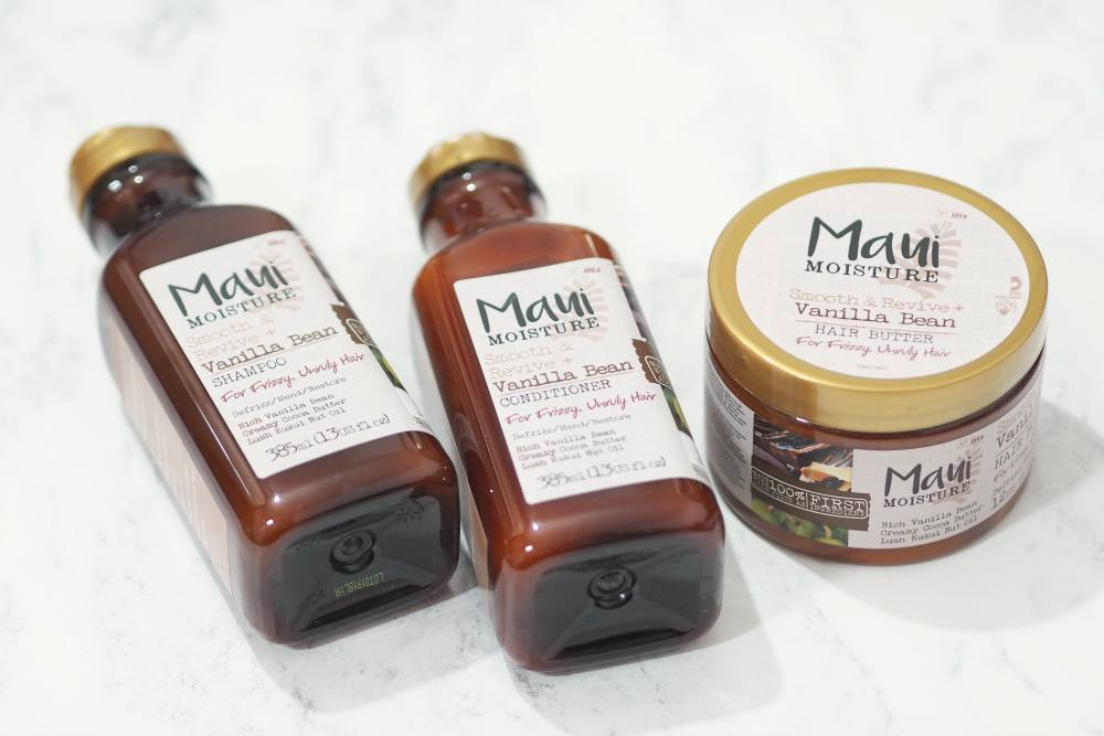 Maui Moisture Smooth and Revive + Vanilla Bean Haircare Collection