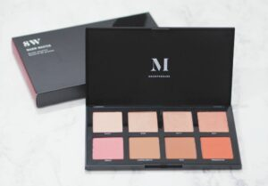 Morphe 8W Warm Master Blush Palette Review and Swatches