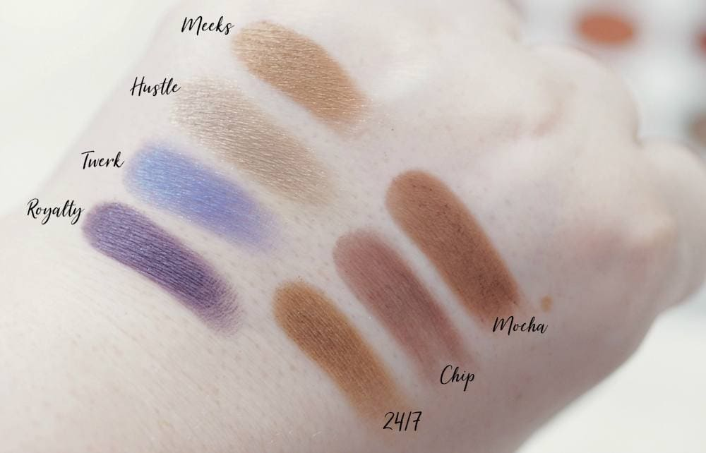 Morphe Jaclyn Hill Eyeshadow Palette Review and Swatches