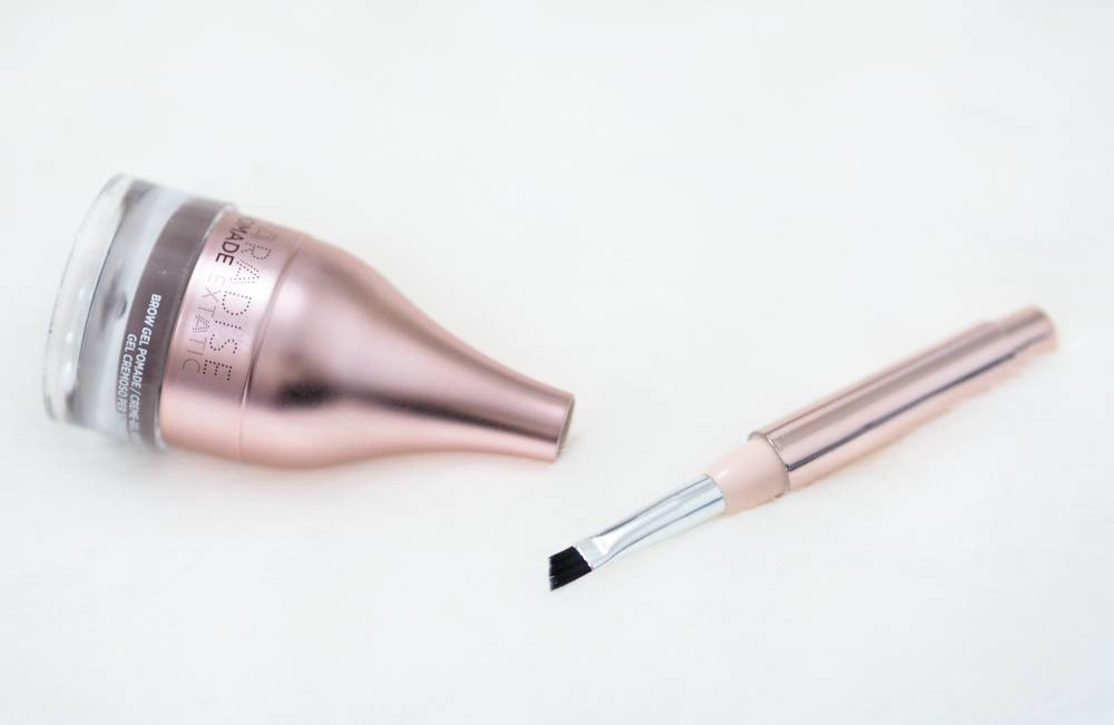 Review and Swatches of the L'Oreal Paradise Pomade Extatic Brow Gel Pomade in the shade 104 Brunette - is it a dupe for ABH Dipbrow Pomade