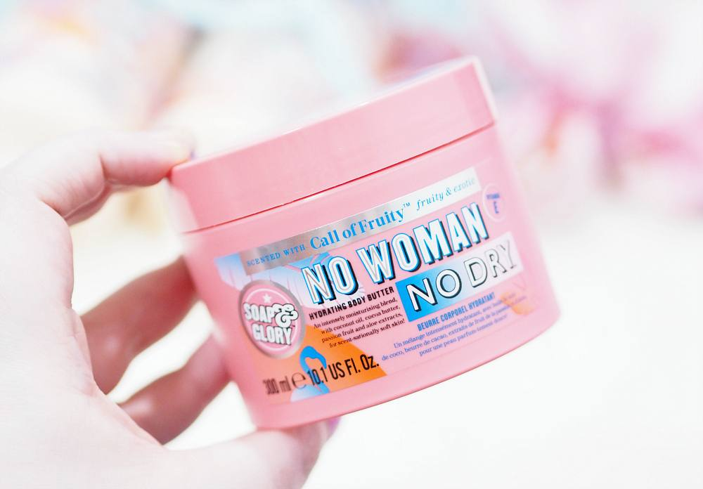 Review of the Soap and Glory Call of Fruity Collection ft No Woman No Dry, Summer Scrubbin', The Way She Smoothes, Hand Food and Paradise Glossed