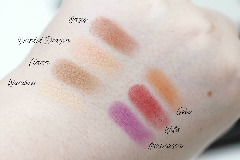 W7 Dusk Till Dawn Ultra Violet Neutrals Eyeshadow Palette Review and Swatches