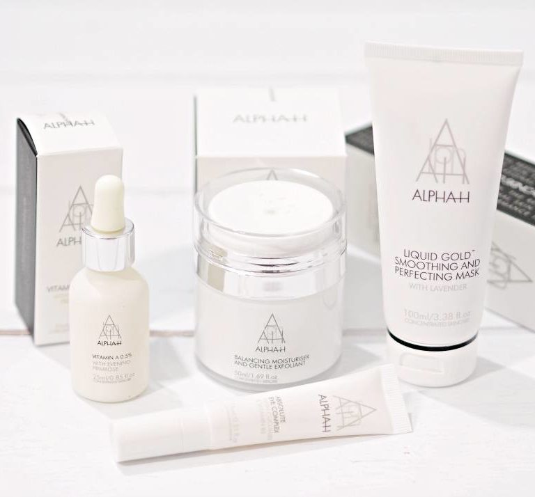 Alpha-H Cult Beauty Brand of the Month - October 2018 featuring Balancing Moisturiser and Gentle Exfoliant, Liquid Gold Smoothing Mask, Vitamin A and Complete Eye Complex
